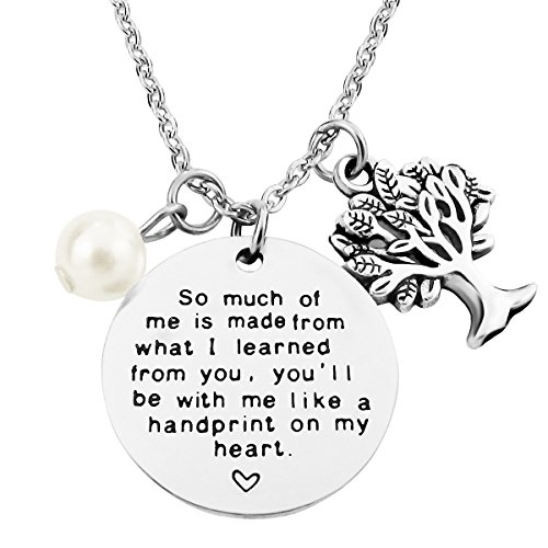 (ALoveSoul Personalized Teacher Appreciation Gifts Teachers Day Gifts Graduation Gifts Pendant)