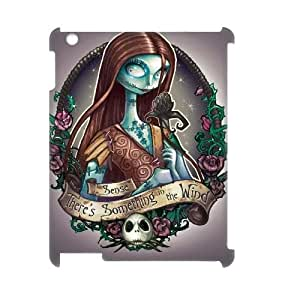 wugdiy Brand New Phone 3D Case for iPad2,3,4 with diy The Nightmare Before Christmas
