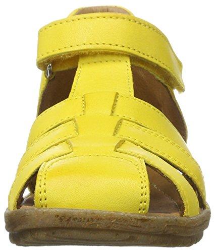 Naturino NATURINO SEE - sandalias abiertas de cuero infantil Amarillo (Gelb)
