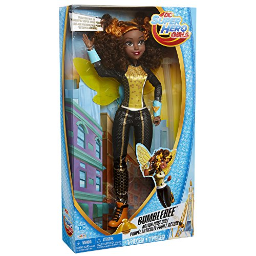 (DC Super Hero Girls Bumblebee Action Pose)
