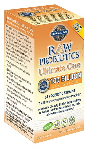 Garden Of Life Raw Probiotics Ultimate Care 100 Billion Garden Ftempo