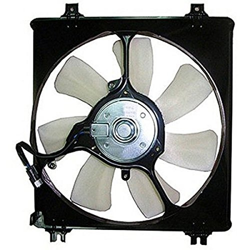 A-C Condenser Fan Assembly - Cooling Direct For/Fit 08-12 Honda Accord Sedan/Coupe V6 10-15 ()