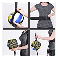 GALAROES Volleyball Training Equipment Aid : Solo Practice for Serving and Arm Swings Trainer - Practice Overhand Serve, Spike, Arm Swings, Hitting. Returns The Ball After Every Swing. from JSGALAROES