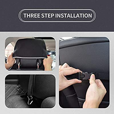 SEIUCAN Car Seat Covers, Waterproof Car Seat Protector Universal Fit for Most for Auto SUV Truck, Non-Slip Carseat for Gym Workout,Yoga,Pets - 1 PC: Automotive