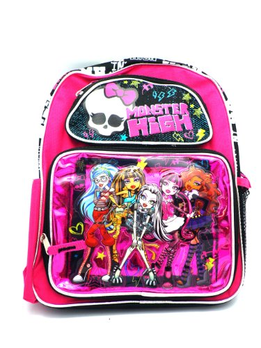 Monster High Backpack 12 in School Bag Purple - NEW STYLE