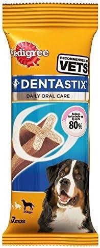 Pedigree Dentastix for Large Dogs (7 per Pack – 270g) – Pack of 2 – Dogs Corner