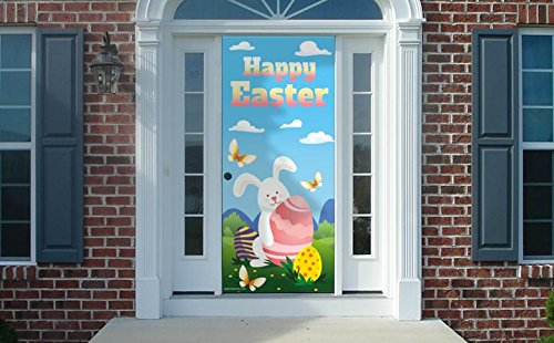 Splendoorz Easter Bunny Decorative Door Cover (36