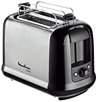 Moulinex LT2618 Toaster Subito, edelstahl / schwarz