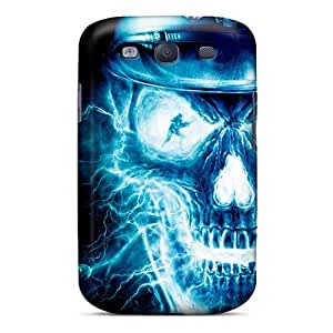 Defender Case With Nice Appearance (skull) For Galaxy S3
