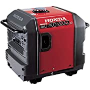 Honda EU3000iS Portable Inverter Generator - CARB Compliant, Model# EU3000IS1A