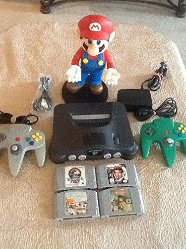 NINTENDO 64 CONSOLE BUNDLE --- 2 CONTROLLERS & GAMES (Bundle Games Nintendo 64)
