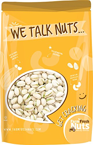 - California Pistachios Extra Large - Gourmet Roasted - IN SHELL PISTACHIO NUTS, BRAND NEW PRODUCT (SALTED)