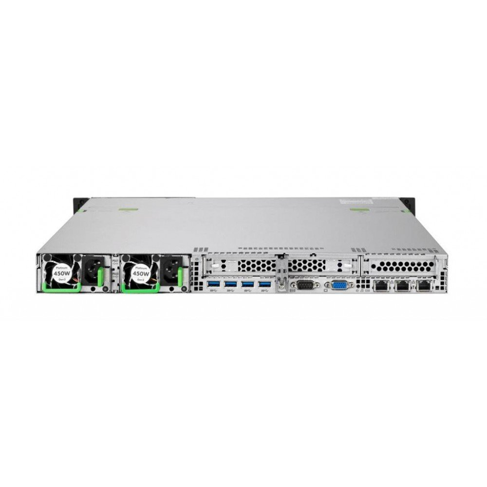 Servidor 1U 3 GHz, E3-1220V6, 8 GB, DDR4-SDRAM, 2000 GB, Bastidor Fujitsu RX1330 M3