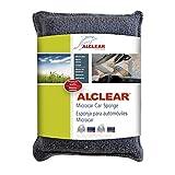 ALCLEAR 950014 Anti-fog microfiber windscreen sponge, blue-anthracite, size: approx. 5.12 x 3.94 x 1.38 in.