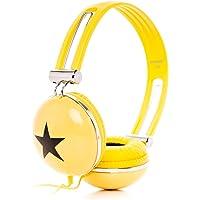 Rockpapa Estéreo Ajustable Star Niñas Niños Adultos Kids