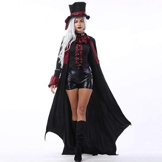 XIONGDA Disfraz de Cosplay de Halloween Terror clásico Vampiro ...