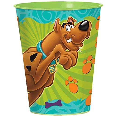 Scooby Doo 16oz. Favor Cup (each) (Scooby Bags Doo Treat)