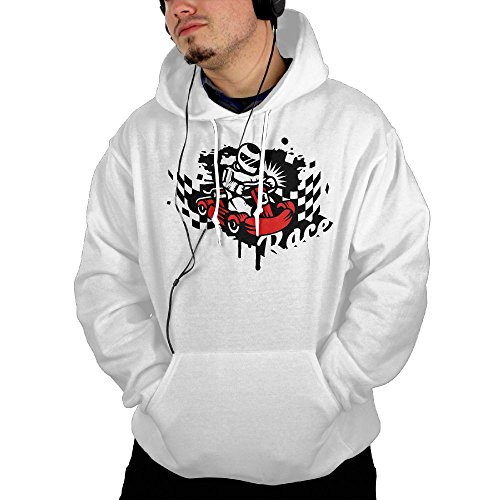 Knex Racers (Previously Beat All Men Kart Racer Graffiti Designed Hoodie)