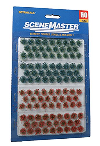 Walthers SceneMaster Wildflower Patches (Patch Flowers Cream)