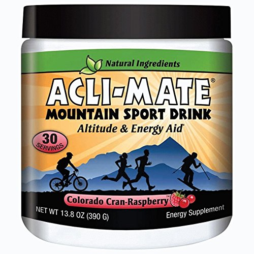 Price comparison product image Acli-Mate Mountain Sport Drink,  Cran-Raspberry,  13.8-Ounce