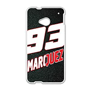 HTC One M7 Phone Case for Classic theme Marc Marquez pattern design GCTMCMQZ0789284