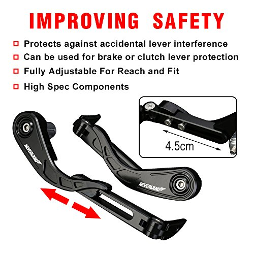 Motorcycle & ATV Rovizre 7/8 22mm Handguards for Moto Brake and ...
