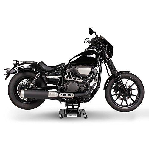 Cric Chariot De D/éplacement pour Harley Davidson Road King FLHR//I ConStands Lift M Noir
