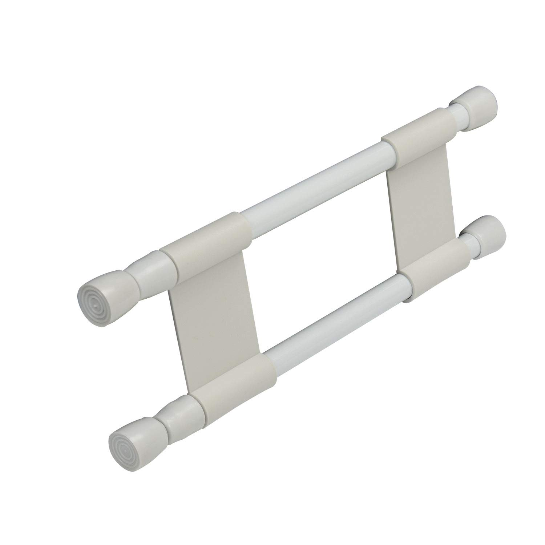 Cartrend 10241 Caravan Barras de sujeci/ón para estanter/ías y armarios 25-43 cm