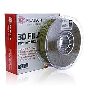 Filatech PLA Filament, Bronze Gold, 1.75mm, 1kg, Made in UAE