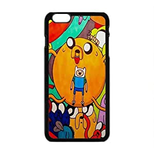 Happy Aadventure time Case Cover For iPhone 6 Plus Case
