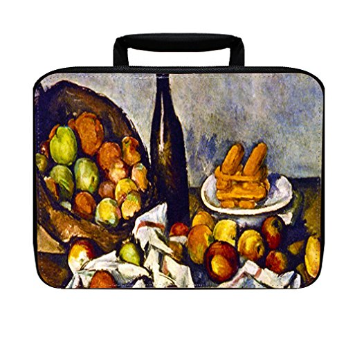 Apple Basket (Cezanne) Insulated Lunch Box Bag (Cezanne Basket Of Apples)