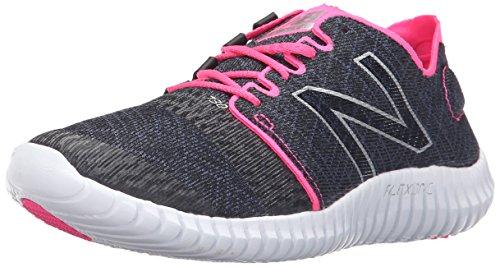 Nuovo Equilibrio Womens 730v3 Scarpa Da Corsa Nero / Colore Rosa Amp