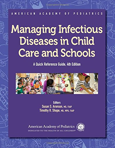 Pdf Medical Books Managing Infectious Diseases in Child Care and Schools: A Quick Reference Guide (American Academy of Pediatrics)
