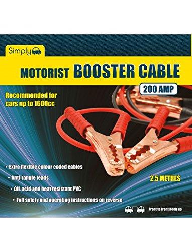 Simply gli automobilisti sm200c saltare fili//cavi booster
