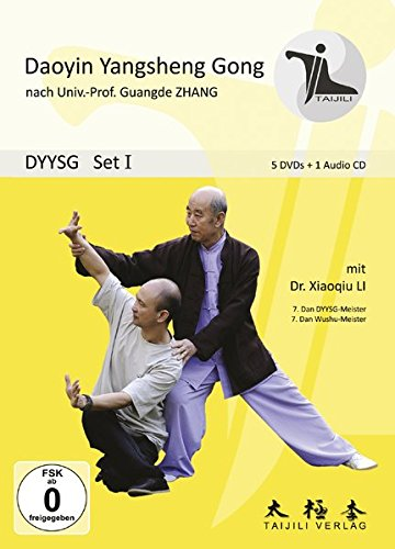 DAOYIN YANGSHENG GONG SET I (5 DVDs plus 1 Audio-CD): Qigong DVD-SET I
