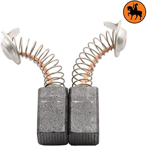 Buildalot Specialty Carbon Brushes 0921_Hitachi_RB40VA for Hitachi RB40VA Powertools - With Spring, Cable and Connector - Replaces 999021, 999070 & 999084
