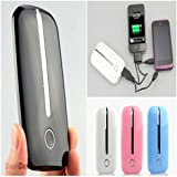 Unique Gadget Universal Portable Power Bank Battery Backup 4000 mAh For Samsung Nokia Micromax (Random Color)
