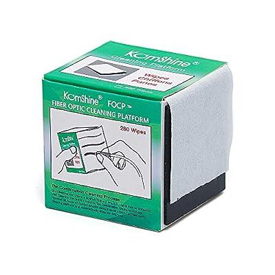 Komshine Fiber Optic Cleaning Wipes FOCP FC/SC/ST 2.5mm 1.25mm LC Bare Fiber Universal Connector Fiber Optic Cleaning