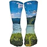 PengMin Lake Forest Leisure Cotton Socks Men And Women Sports Socks