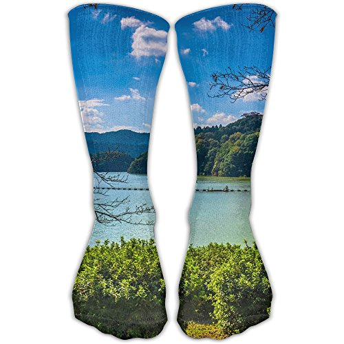 PengMin Lake Forest Leisure Cotton Socks Men And Women Sports Socks by PengMin