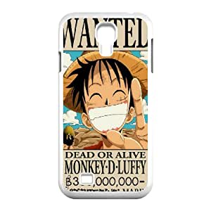 DIY Printed Monkey¡¤D¡¤Luffy hard plastic case skin cover For Samsung Galaxy S4 I9500 SN9V692773