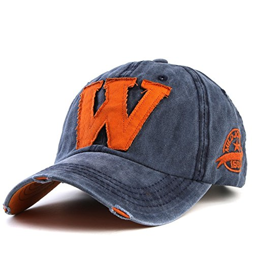 hot cotton embroidery letter W baseball cap snapback caps fitted bone casquette hat for men custom hats