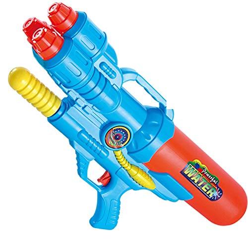 TOIY Summer Water Gun Children's Water Gun Toy Backpack Water Gun Beach Toy Play Water Gun Summer Hot Toy Water Gun ( Color : Blue , Size : L )