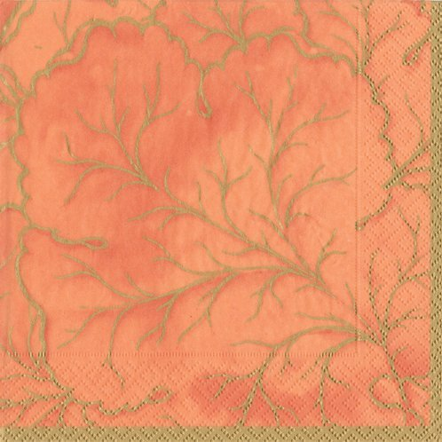 Cocktail Napkins Party Supplies Fall Decorations Fall Decorating Ideas Majolica Orange Pk 40]()