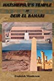 img - for Hatshepsut's Temple at Deir el Bahari book / textbook / text book