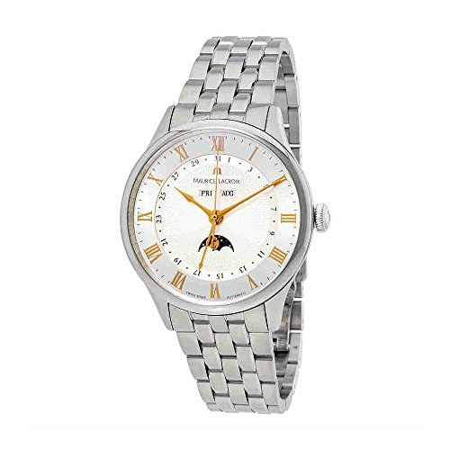 Maurice Lacroix Masterpiece Tradition Phase de Lune Automatic Mens Watch MP6607-SS002-111