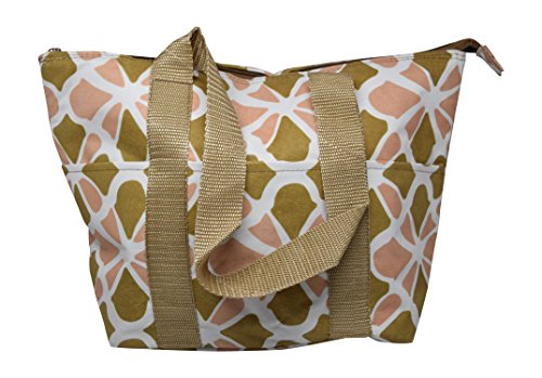 insulated lunch tote zippered - 6