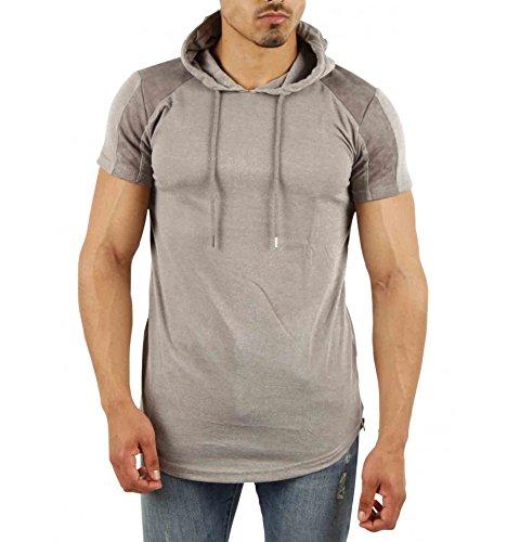 Gov denim Herren T-Shirt grau grau