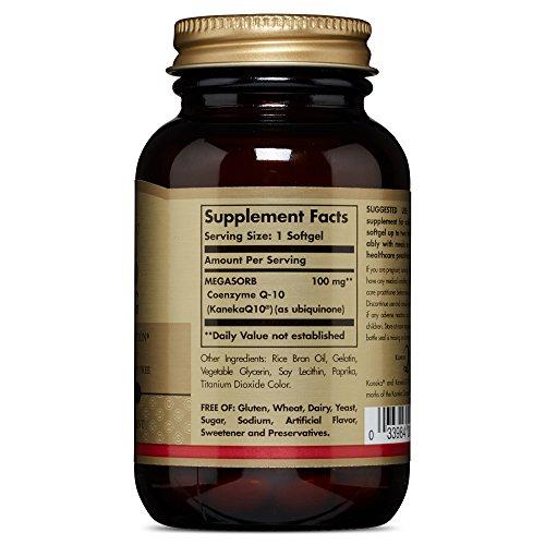 Solgar - Megasorb CoQ-10 100 mg Softgels 90 Count