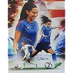 Christen Press signed 8x10 Photo First Goal Team USA 15 World Cup MAB HOLOGRAM